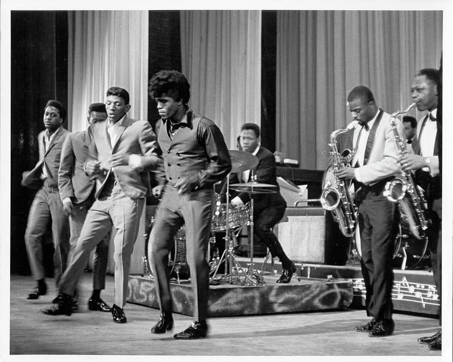 James Brown And Famous Flames At The Photograph by Michael Ochs Archives