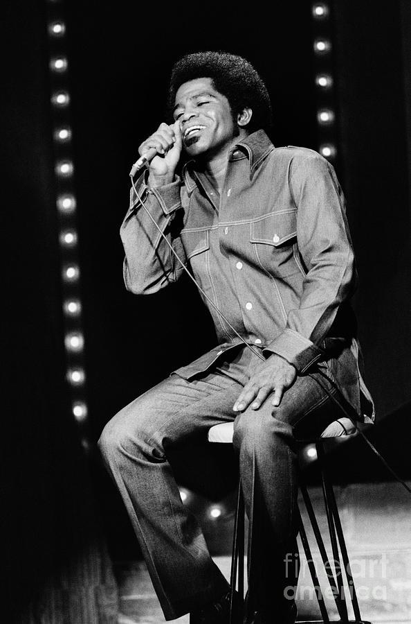 James Brown Appears On The Dick Cavett Photograph by Bettmann