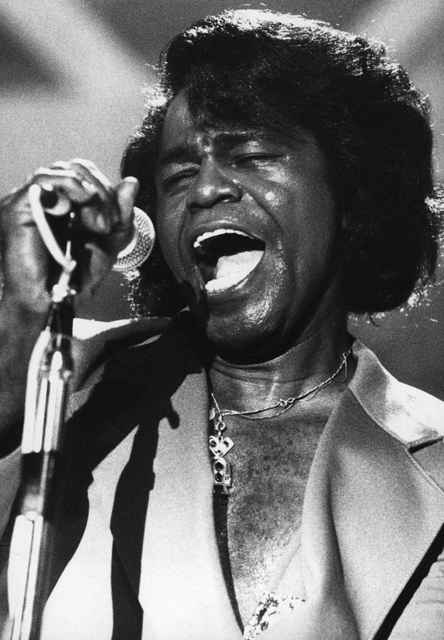 James Brown Photograph by Hulton Archive