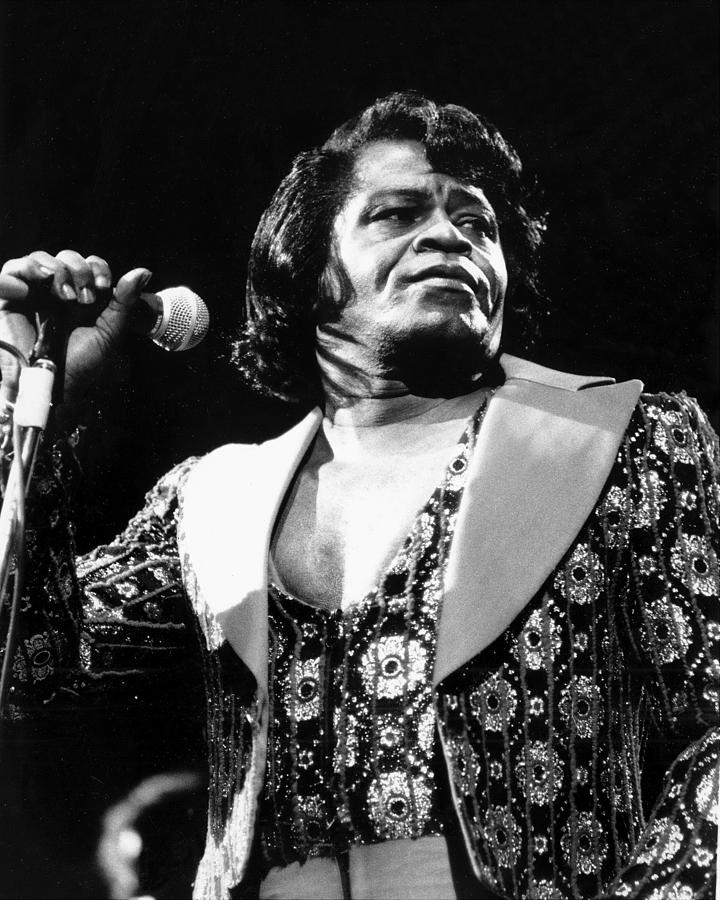 James Brown Performing At The Apollo by New York Daily News Archive