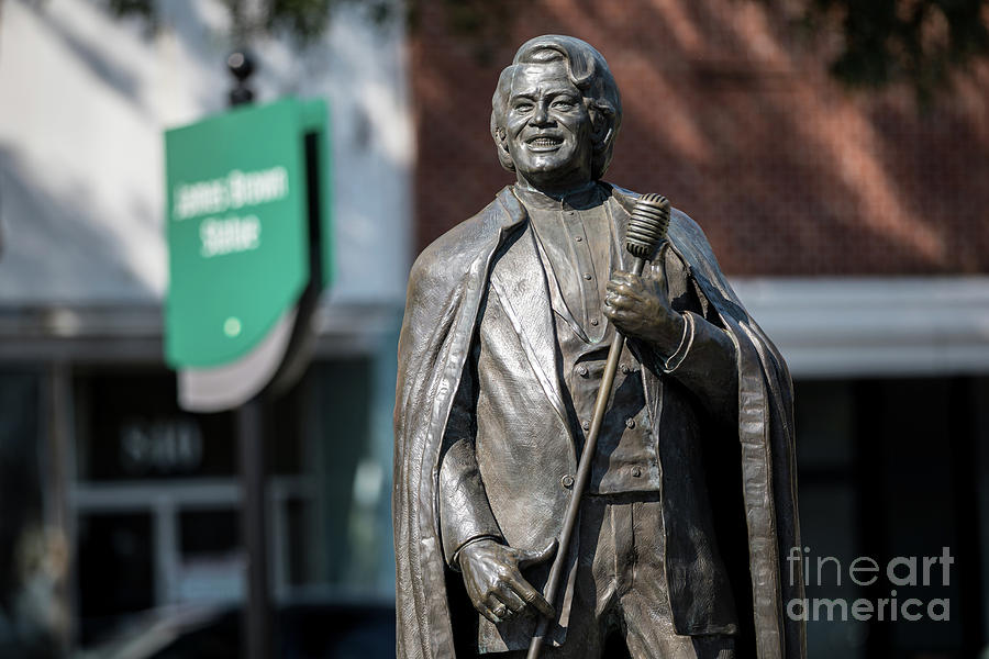 James Brown Statue - Augusta GA by SANJEEV SINGHAL