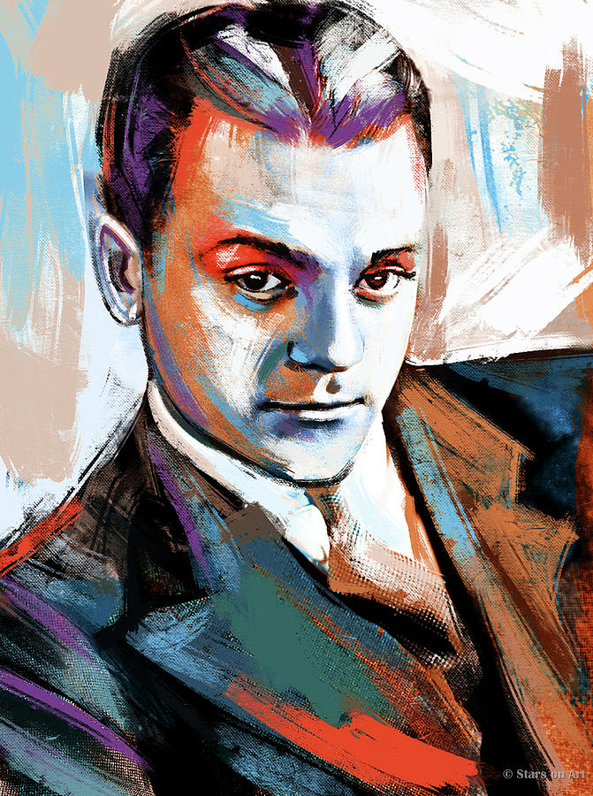 James Cagney Painting Painting
