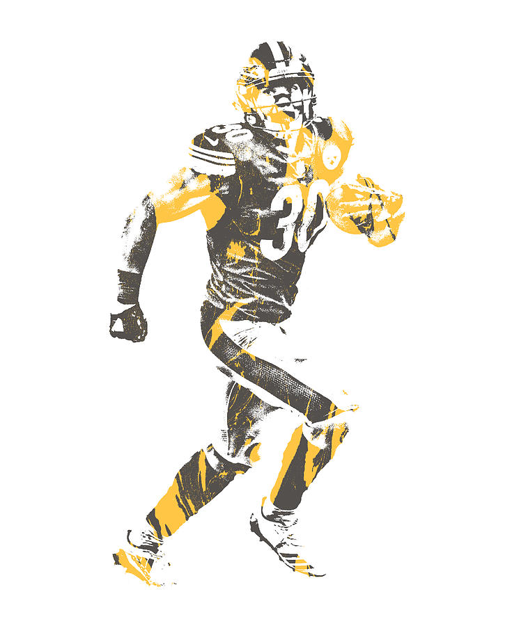 James Connor Pittsburgh Steelers Pixel Art 1
