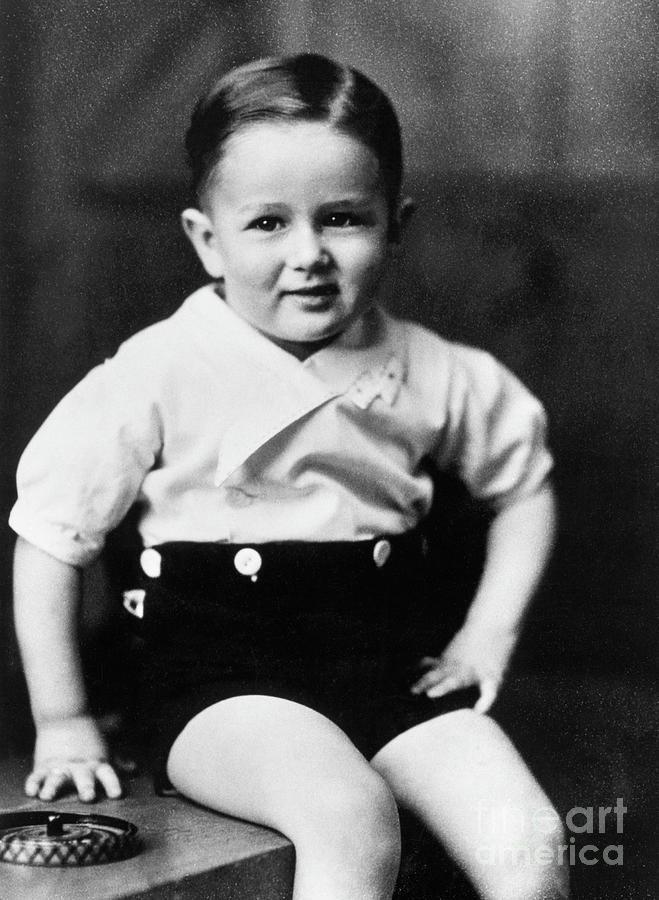 James Dean As A Toddler Photograph by Bettmann