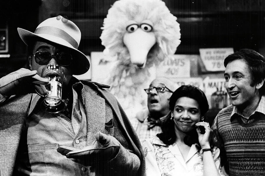 James Earl Jones Sesame Street Photograph by Afro Newspaper/gado