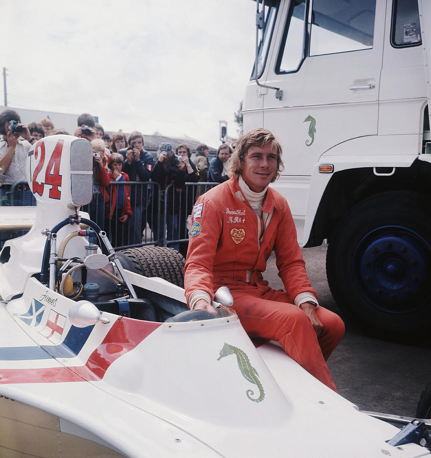 James Hunt Photograph by Hulton Archive