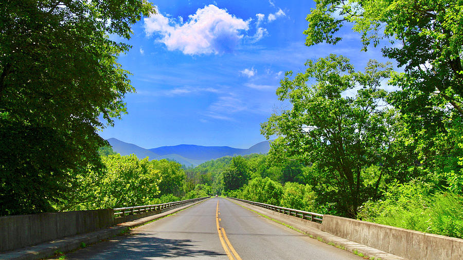James River Bridge, Blue Ridge Parkway, Va. by James Roney