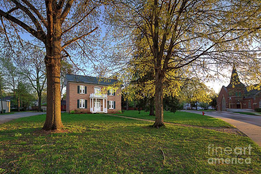 Horizontal Photograph - James Robinson Mccormick House by Larry Braun