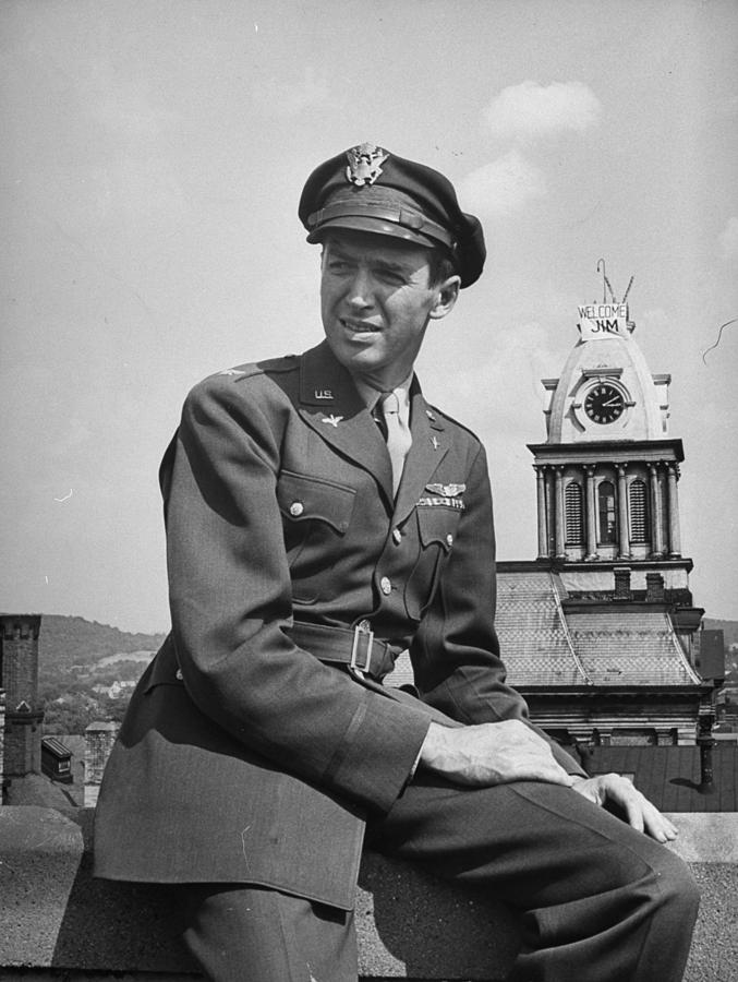 James Stewart Photograph by Peter Stackpole