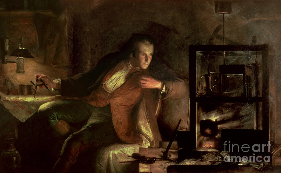 James Watt and the Newcomen Engine by James Eckford Lauder
