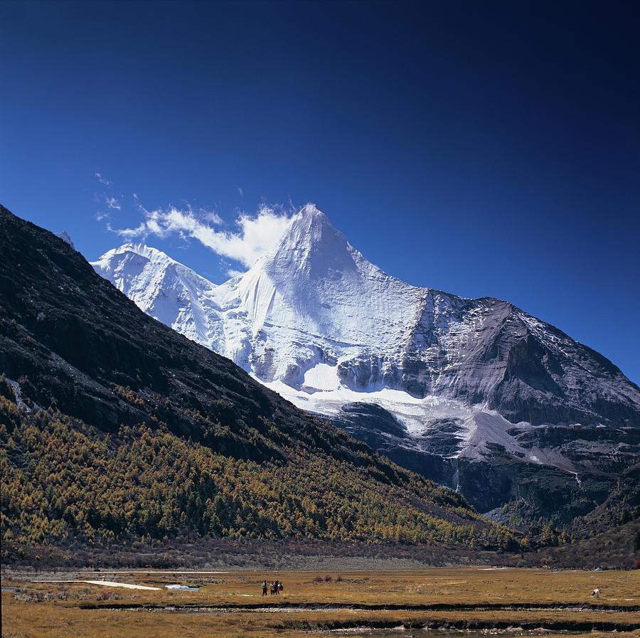 Jampelyang Sacred Mountains Filmnew22 1 Photograph by Wilbur Law