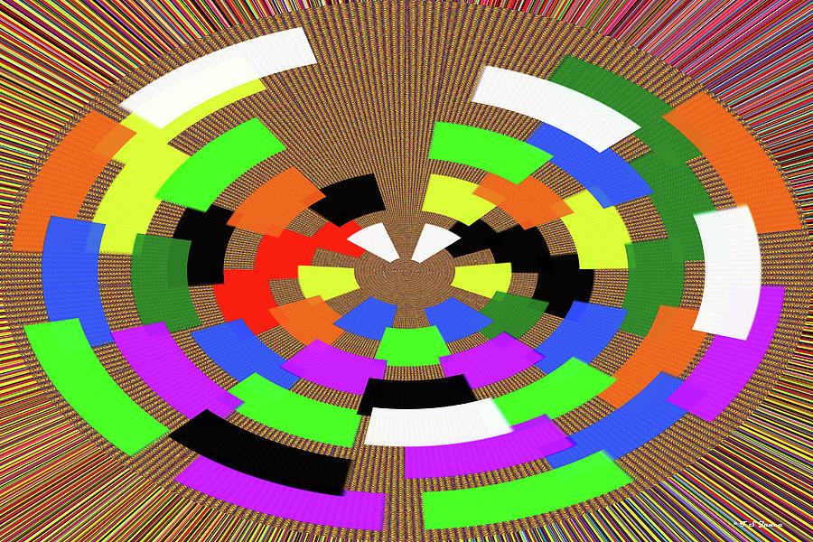 Color Wheel Art Design