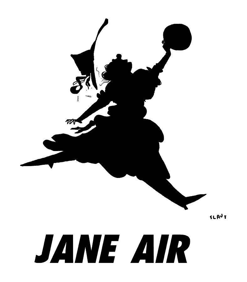 Jane Air Drawing by Sara Lautman
