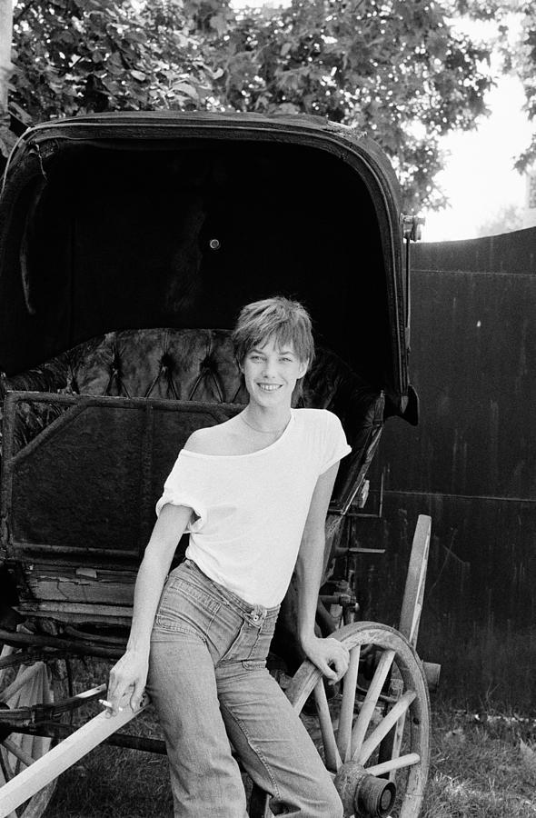 Jane Birkin Photograph by Giancarlo Botti