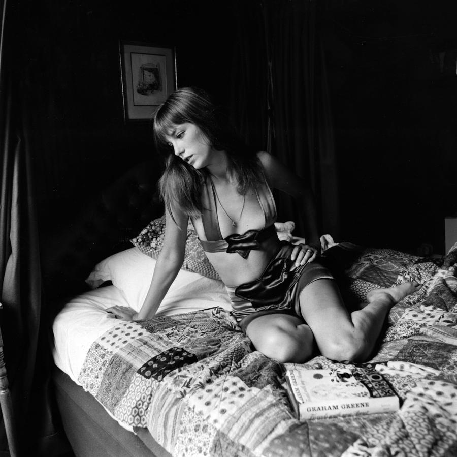 Jane Birkin Photograph by Joseph Mckeown