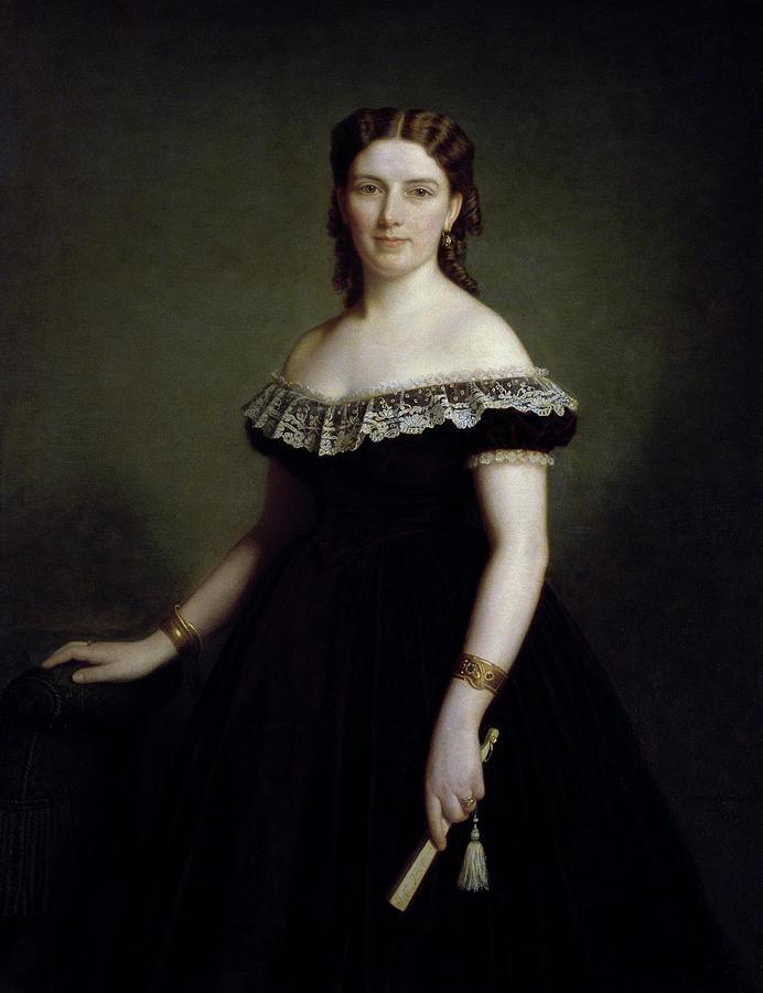 Jane Cederlund (1843-1884) by Amalia Lindegren