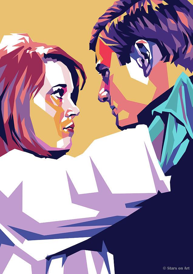 Jane Fonda And Robert Redford Digital Art