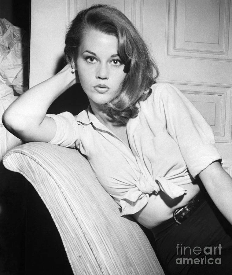 Jane Fonda Photograph by Bettmann