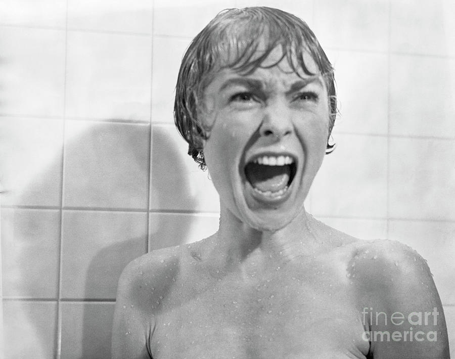 Janet Leigh Screaming In Psycho Shower Photograph by Bettmann