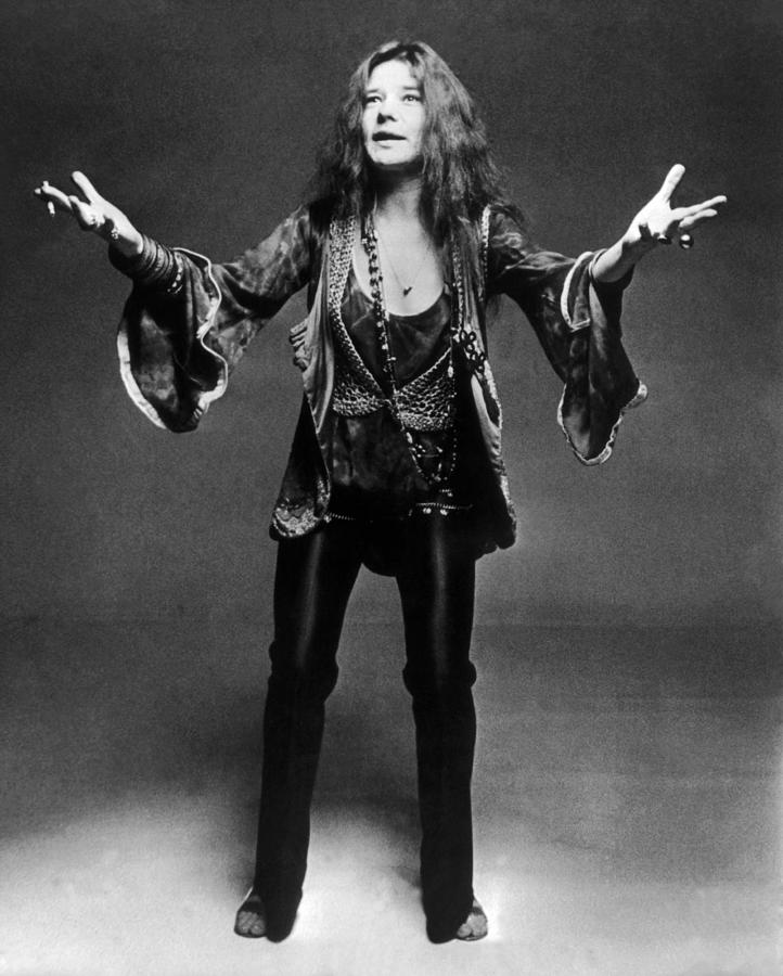 Janis Joplin 1966-1970 Photograph by Keystone-france