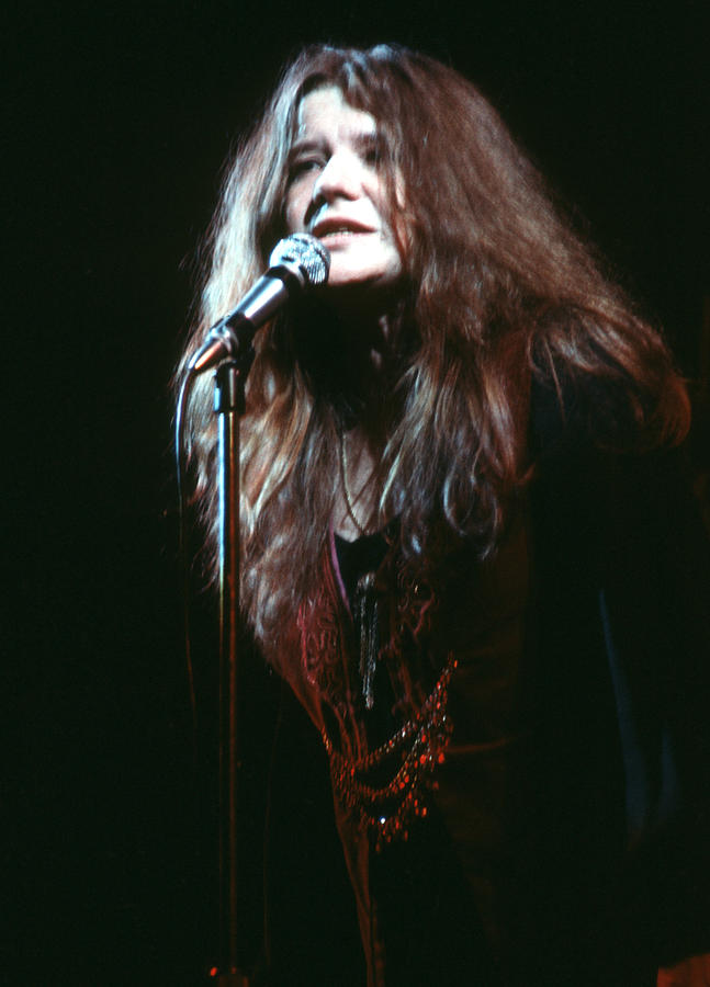 Janis Joplin At The Fillmore East Photograph by Michael Ochs Archives