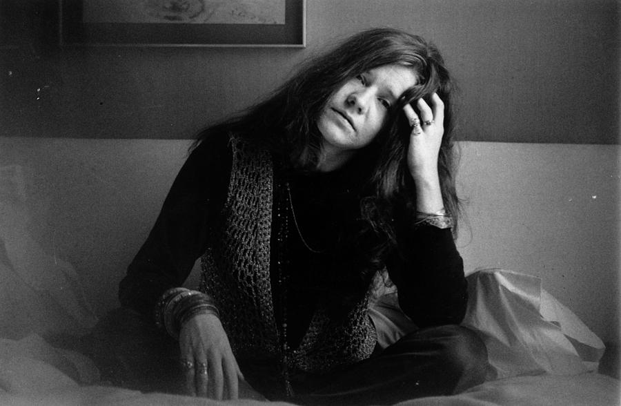 Janis Joplin Photograph by Evening Standard
