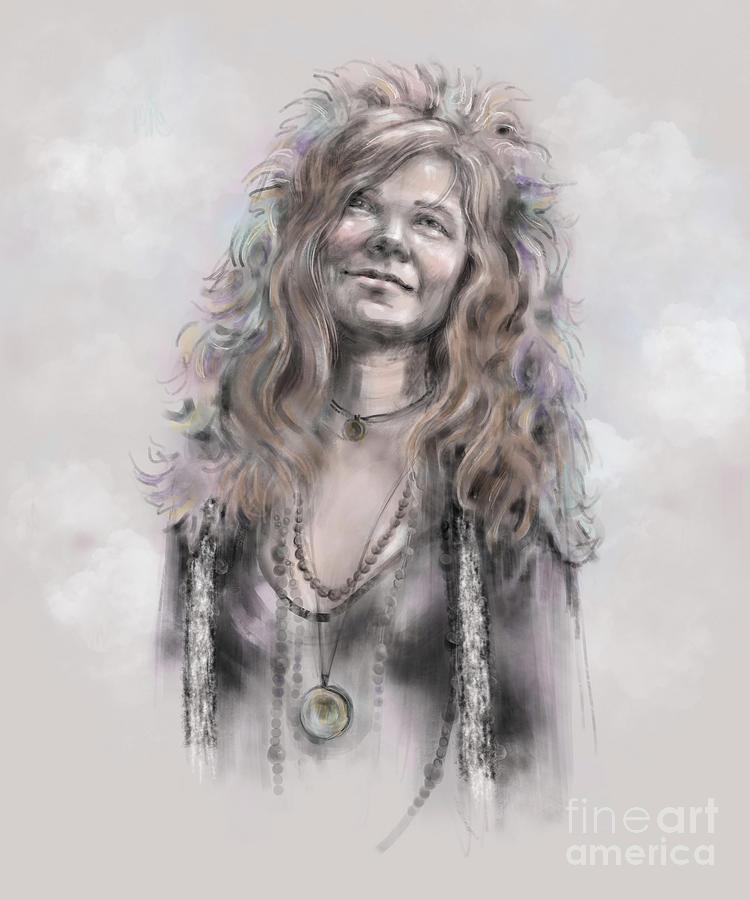 Janis Joplin by Lora Serra