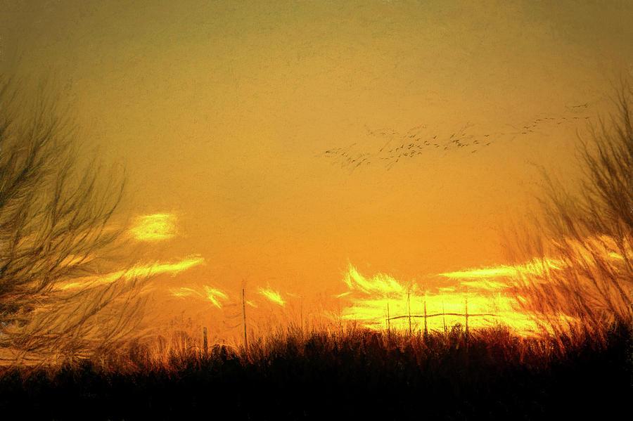 January Sunset - Lehigh Valley by Jason Fink