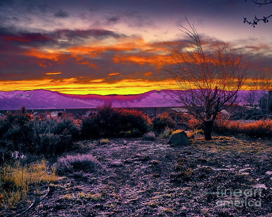 January sunrise by Charles Muhle