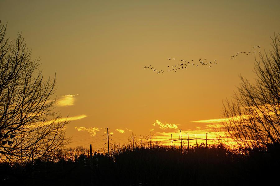 January Sunset - Lehigh Valley - Photography by Jason Fink