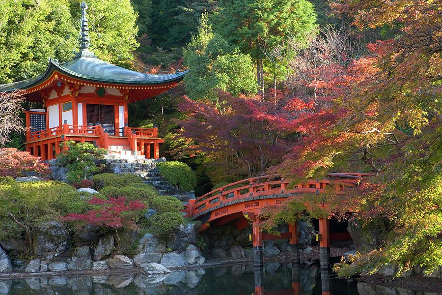 Japan, Kyoto, Daigoji Temple Photograph by Peter Adams