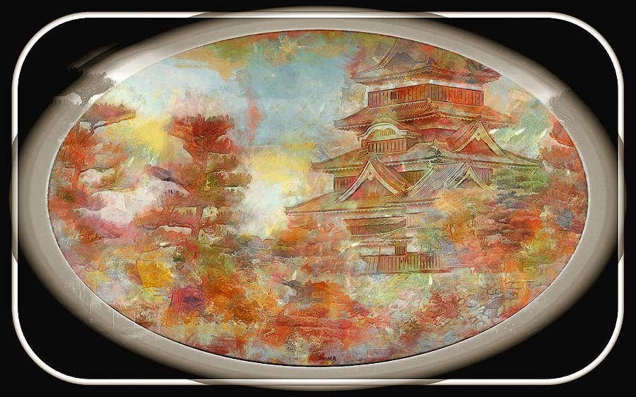 Japan Temple by Mario Carini