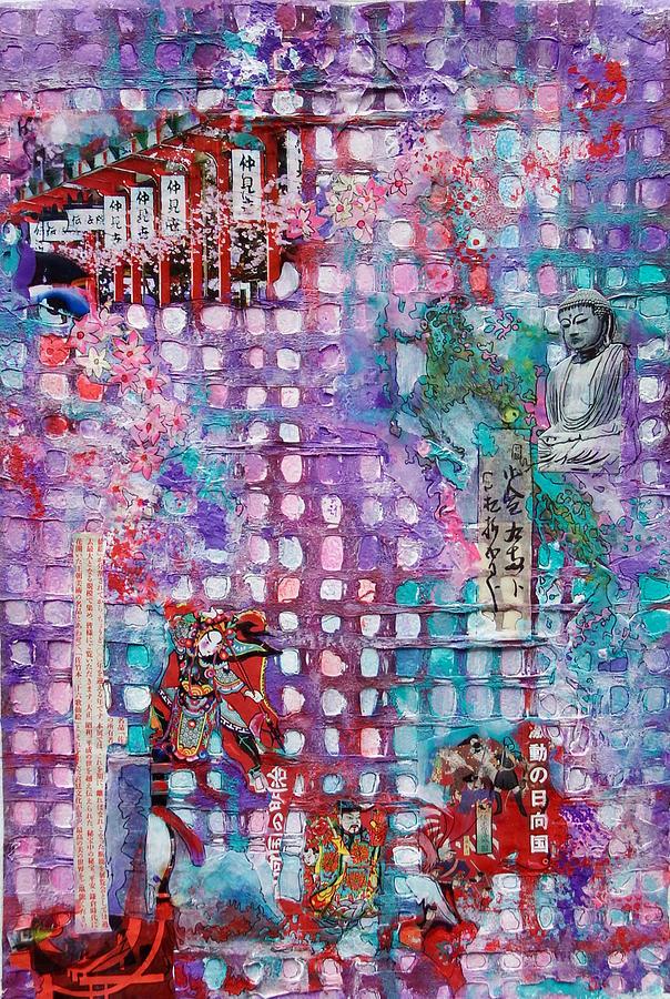 Japanese Matrix by Myra Evans