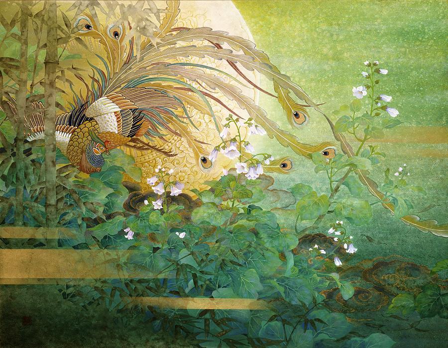 Asian Painting - Japanese Modern Interior Art #160 by ArtMarketJapan