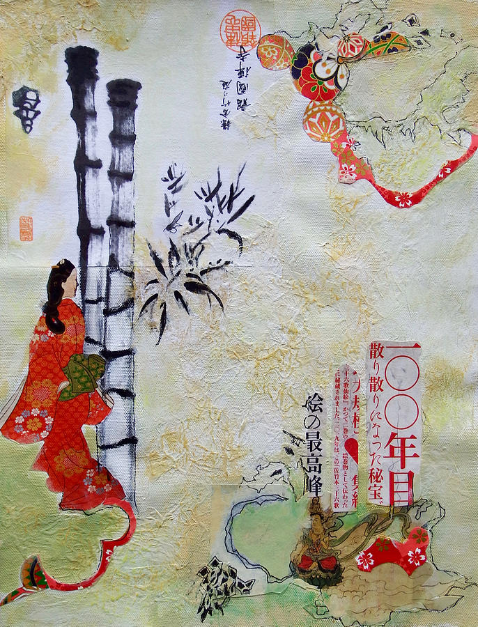 Japanese Passage by Myra Evans