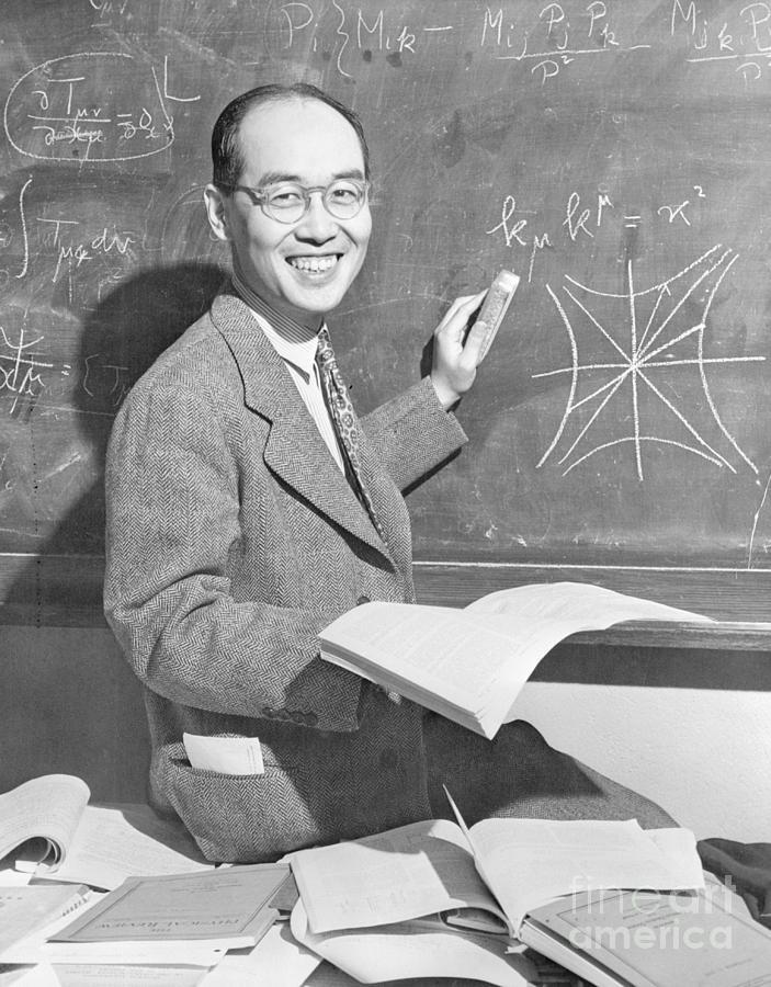 Japanese Physicist Hideki Yukawa Photograph by Bettmann