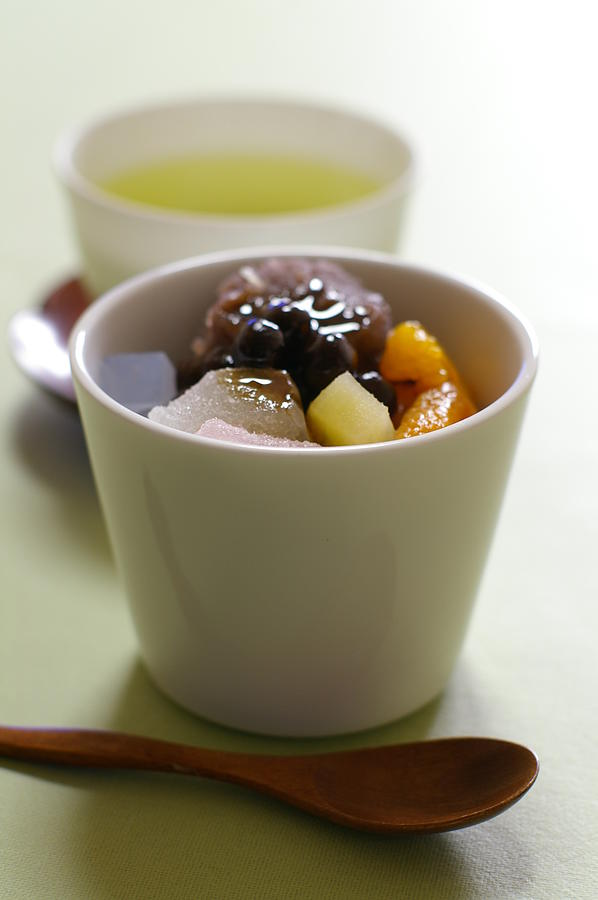 Japanese Traditional Vegan Sweets Photograph by Naomi Muraishi