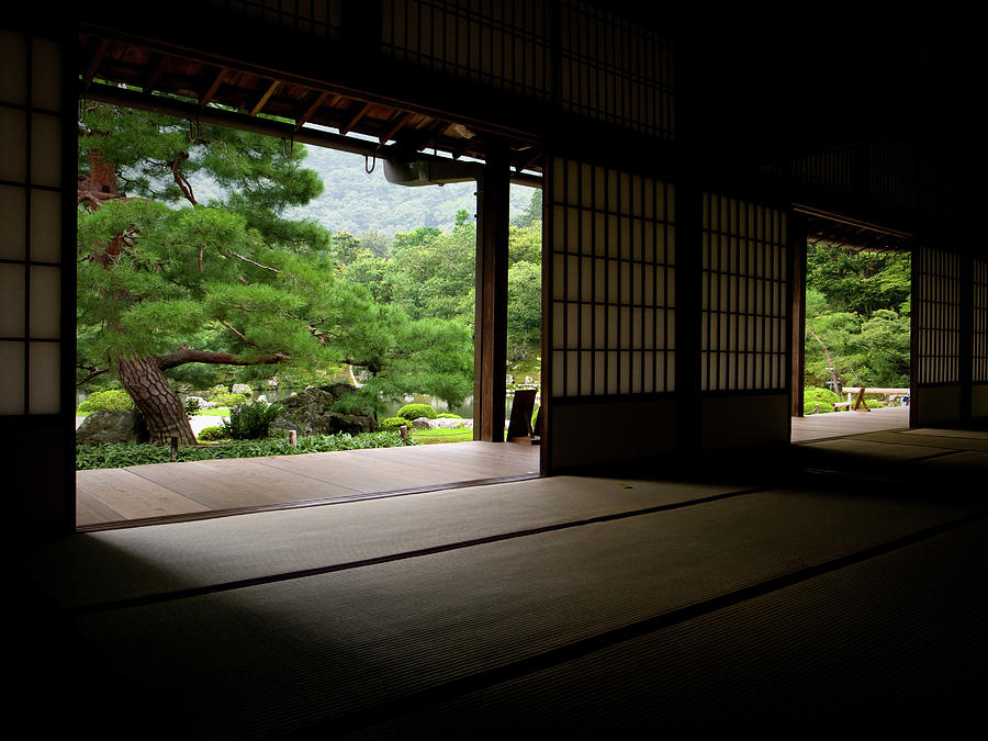 Japanese Zen Garden In Arashiyama