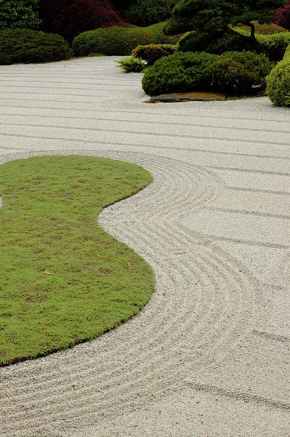 Japanese Zen Garden Photograph by Picmax