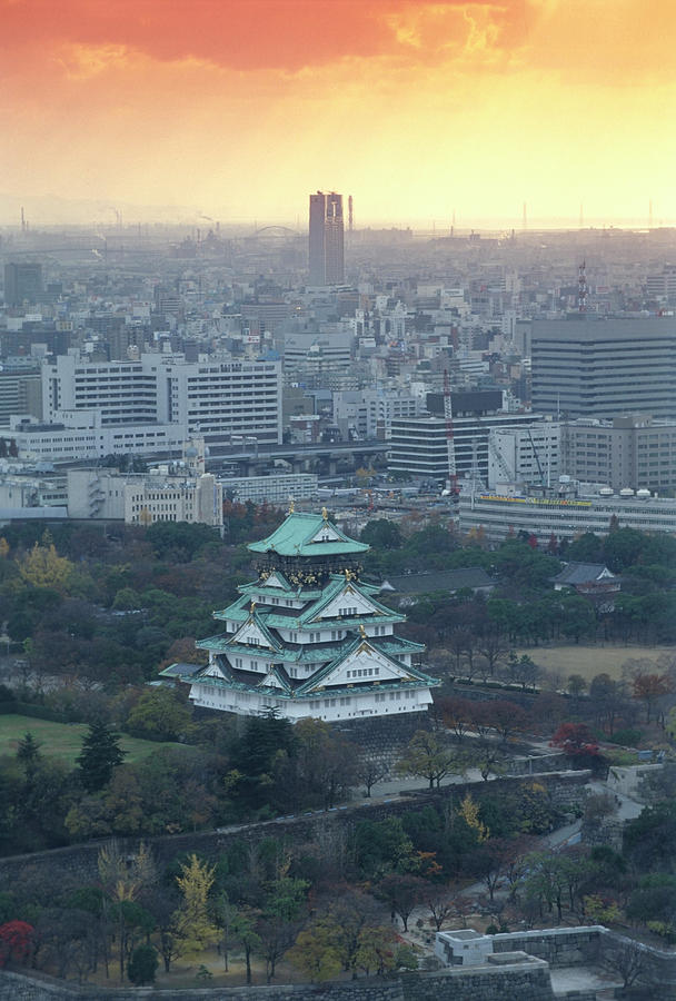 Japan,honshu,osaka Prefecture, Osaka Photograph by Paolo Negri