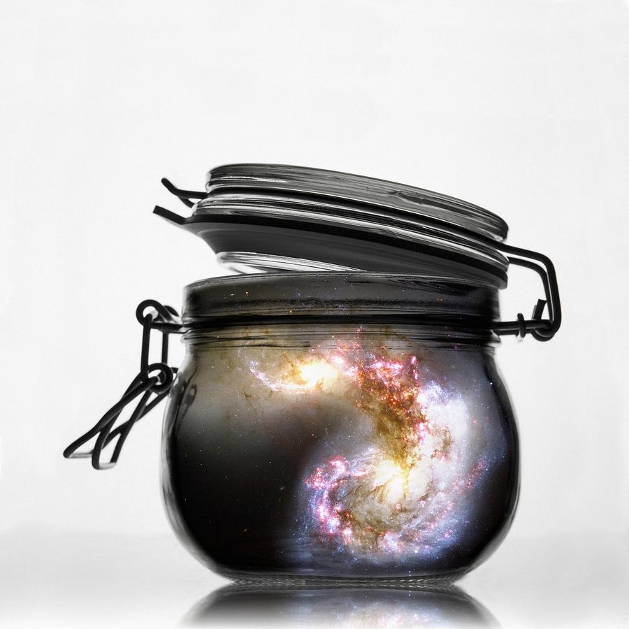 Jar of Galaxy by Marianna Mills