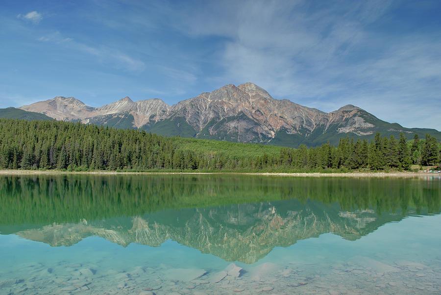 Jasper, Canada - Patricia Lake Photograph by David Min