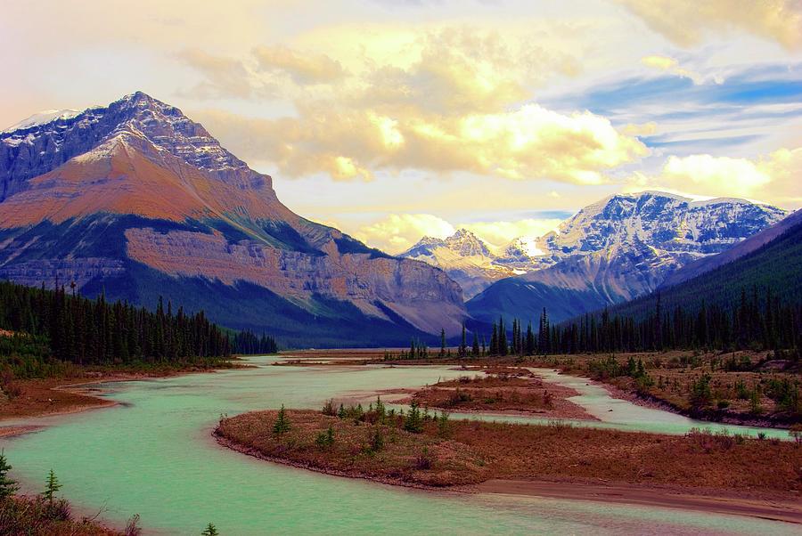 Jasper Rockies Photograph by Teeje