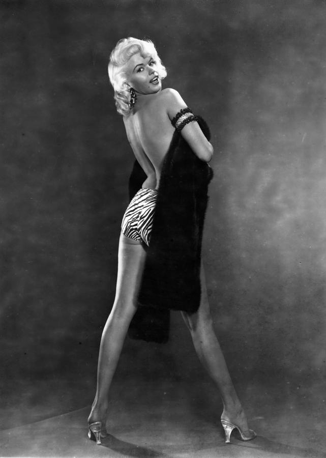 Jayne Mansfield Photograph by Hulton Archive