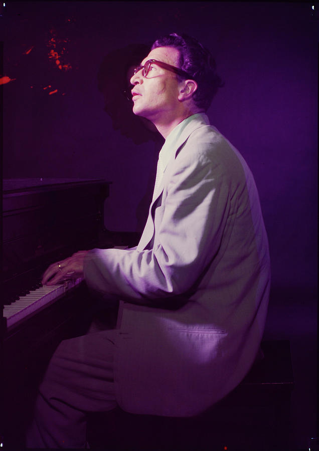 Jazz Essay 54 Pianist Dave Brubeck Photograph by Eliot Elisofon