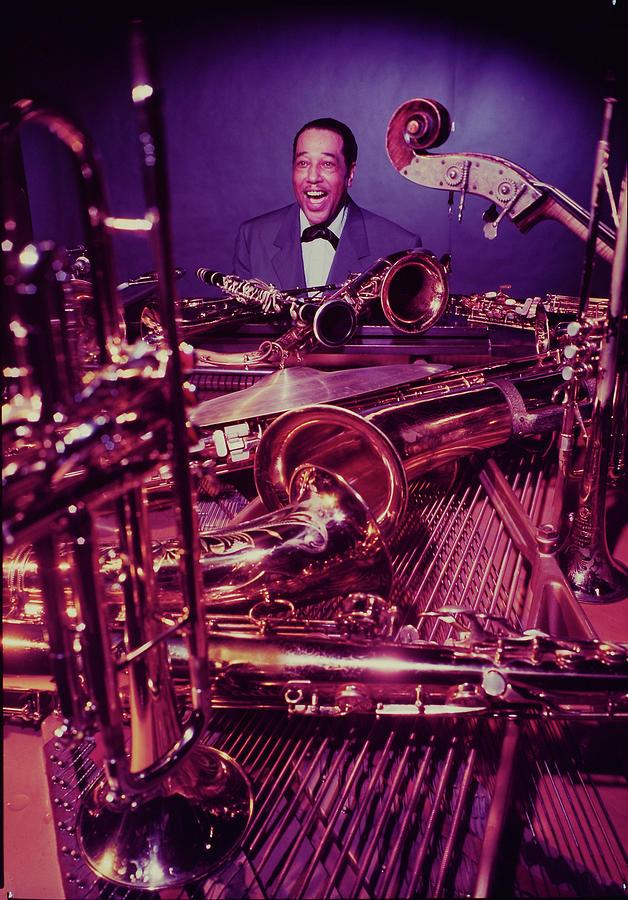 Jazz Essay 54 Pianist Duke Ellington Photograph by Eliot Elisofon