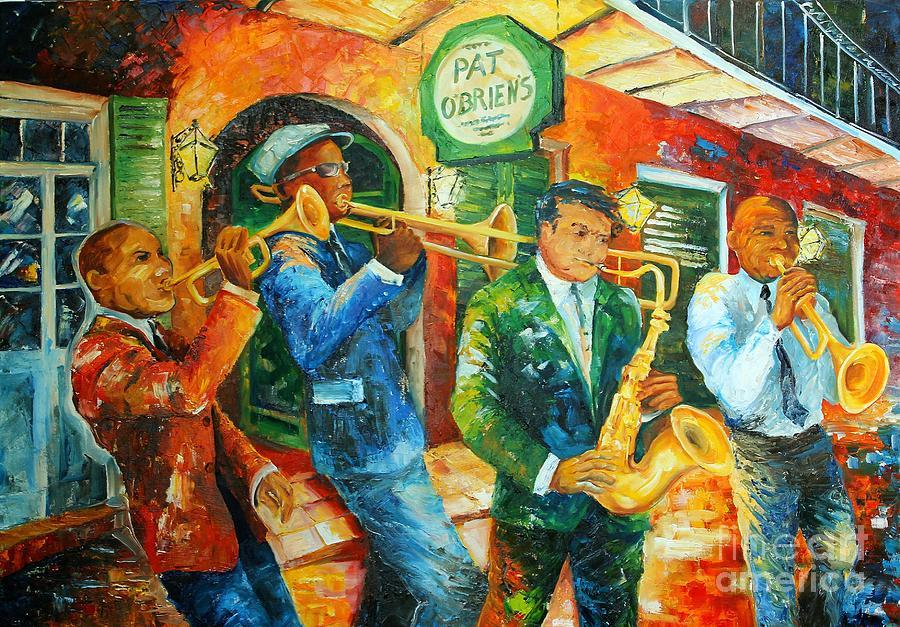 Jazz Jam in New Orleans by Diane Millsap