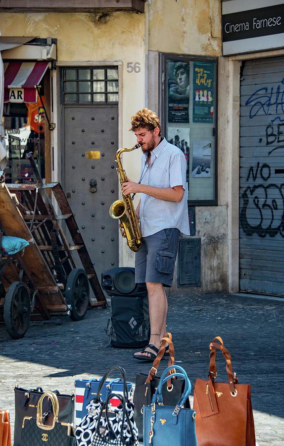 Campus Martius Photograph - Jazz by Joseph Yarbrough
