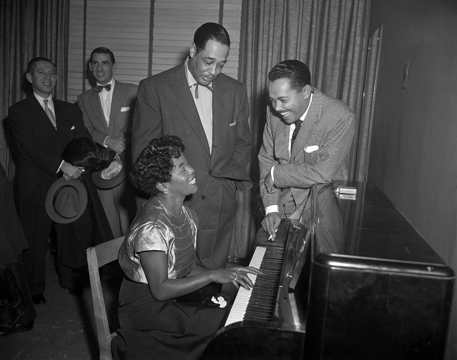 Jazz Legends At Carnegie Hall Photograph by Donaldson Collection
