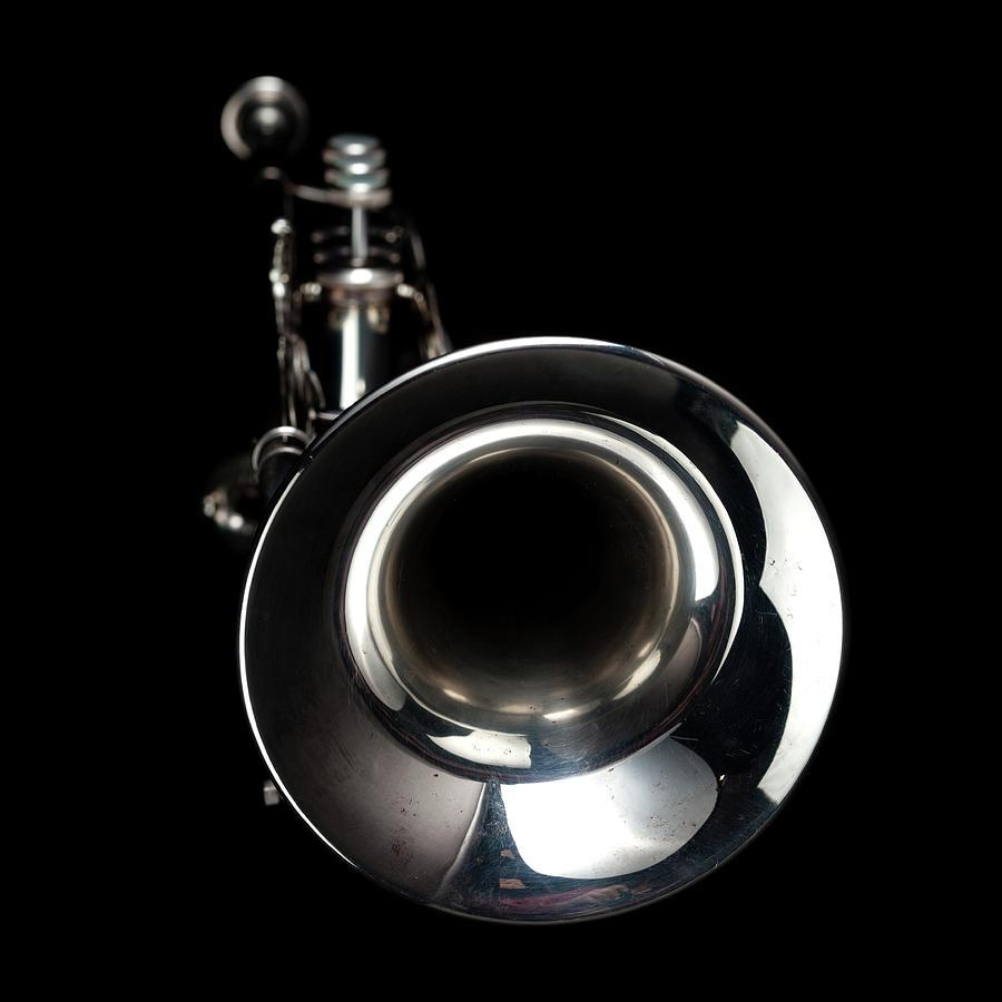 Jazz Music Trumpet Photograph by Photovideostock